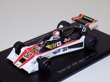 1/43 Spark F1 Formula 1 Tyrrell 007 Car #50 1977 Japan GP K.Takahashi S1639