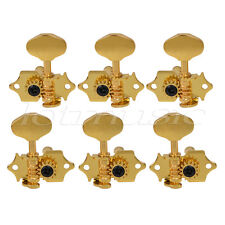 3x3 Gold Guitar Tuning Peg Tuner Machine Head For Guitar Replacement