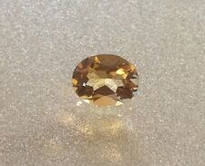 1 PC OVAL CUT SHAPE NATURAL CITRINE 6x4MM FACETED LOOSE GEMSTONE