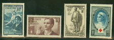 FRANCE #B78-81 Semi Postals, og, NH, VF, Scott $60.00