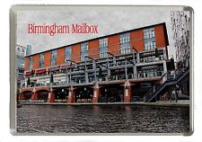 Birmingham Mailbox Manipulated Image Fridge Magnet Jumbo 90mm x 60mm Size