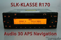 Original Mercedes Navigationssystem Audio 30 APS SLK-Klasse R170 W170 Navi Radio