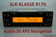Original Mercedes Navigationssystem Audio 30 APS SLK-Klasse R170 W170 Navi Radio