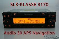 Sistema di navigazione MERCEDES SLK-CLASSE r170 w170 audio 30 APS ORIGINALE RADIO NAVI