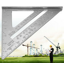 Aluminum Alloy Speed Square Protractor Miter Layout Tool for Carpenter