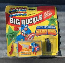 Marvel Captain America Big Buckle Secret Wars 1985 Vintage