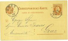 Cartolina Postale Austria 1883 2 Kr. Bruno