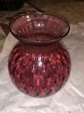 Pilgrim glass #1839 Upside Down Candle Vase 5 1/2""