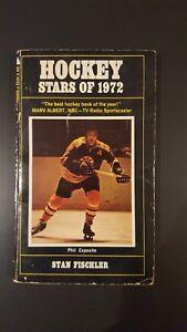 Vintage Hockey Stars of 1972 Phil Esposito Boston Bruins