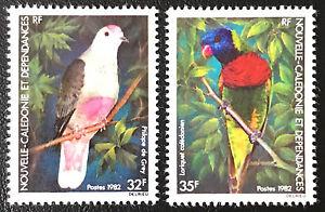 Neukaledonien New Caledonia 1982 **  Postfrisch    Vögel / Birds   MNH