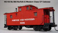 American Model Builders 864 HO Laser Art N&W Class CF Caboose Kit