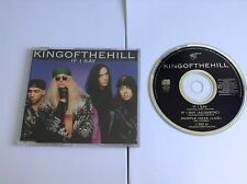 KING OF THE HILL If I Say CD 4 Track B/w Acoustic, Purple Haze Live And I Do U