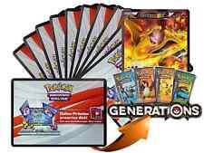 x10 Various XY Pokemon TCGO OnLine Code Karten + 1 Bonus Charizard EX XY121 Code