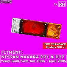 Nissan Navara D21 D22 UTE ALLOY TRAY BACK 86-05 5pin RIGHT Hand Side Tail Light