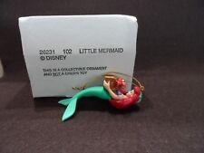 Disney Grolier Little Mermaid Christmas Ornament w/Box  26231 102