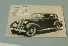 1935 Chevrolet 4 Door Sedan Automobile Rppc Postcard Bryan Packard Wellington Ks