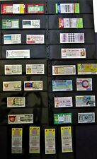 Maine Instant Lottery Tickets, EARLY issues from 1975 thru 1986, 31 diff