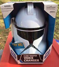 Star Wars 2007 Clone Trooper Voice Changer Helmet  SEALED  NEW