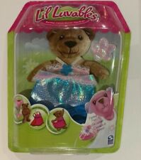Lil Luvables Fluffy Factory Bear Wear Costume Fantasy Fun Dress Up Outfit 3 pc