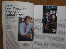 Nov. 1985 TV  Guide(BARRY  MANILOW/JOHN LENNON/YOKO ONO/MARK  McGANN/KIM  MIYORI