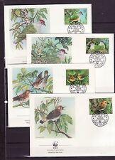 Cook Islands 1989 - FDC - Vogels/Birds/Vögel  WWF