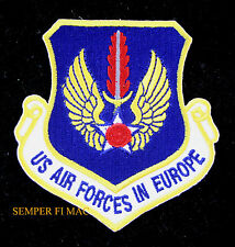 US AIR FORCES IN EUROPE HAT PATCH US ARMY AIR CORPS PIN UP Ramstein AFB GERMANY