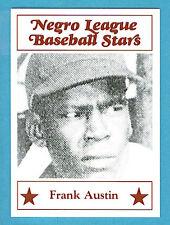 Fritsch Negro League Baseball Stars Singles: #74 Frank Austin