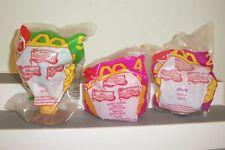 McDonald's 1997 The Jungle Book Lot of 3 NEW #5 KAA ,#2 JUNIOR, # 4 KING LOUIE