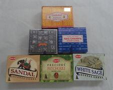 Hem Satya Goloka Best Seller Incense Cone Sampler Bulk Set, Total 64 Cones