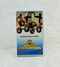 PSP UMD Movie Super Troopers Complete in Box