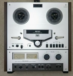 Akai GX-267D 6 Head 3 Motor Auto Reverse Stereo Tape Recorder VERY CLEAN TESTED
