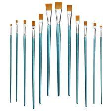12-tlg.   Pinsel-Set   Flachpinsel   Maler-Pinsel   Schul-Pinsel   27 - 34 cm