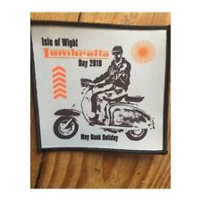Lambretta Day 2018 Sew On Patch Collectable BN Mod Scooter Isle Of Wight
