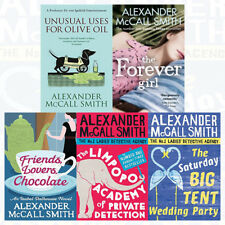 Alexander McCall Smith Collection The Forever Girl 5 Books Set Unusual Uses For