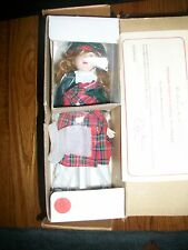 DANBURY MINT DOLLS of the WORLD SUISAN REPRESENTING SCOTLAND FREE SHIPPING