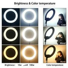 """18""""LED HQ Ring Light 21 inch Kit With Stand For Camera Makeup Phone 🔥🔥🔥"""