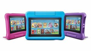 New Amazon Fire 7 Kids Edition Tablet 7 Inch Display 16GB - Latest 2019 Model
