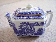 Wade England porcelain blue and white tea pot,Newcastle