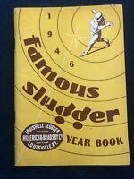 Vintage - 1946 LOUISVILLE SLUGGER H&B FAMOUS SLUGGER BASEBALL YEAR BOOK