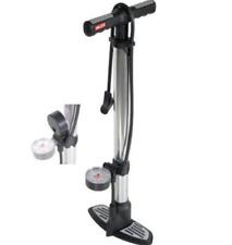 Pompa Per Bici In Alluminio Valex 1372031 con manometro gonfia ruote bici