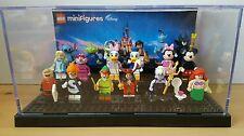 Lego Minifigure display case with Black base Disney batman movie ghostbusters