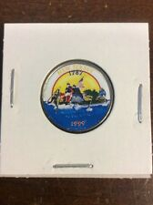 1999 P New Jersey Colorized State Quarter CollectibleCurrencytAndCoin.com