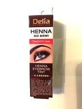 Delia Henna Eyebrow Eyelashes BLACK BROWN GRAPHITE 2G