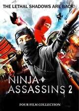 New: NINJA ASSASINS 2 - 4 Film Collection DVD