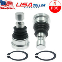 4 pcs Ball Joints fits 2008-2014 Polaris 800 RZR Razor Upper and Lower Fast Ship
