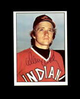 Alan Ashby Hand Signed 1975 SSPC Cleveland Indians Autograph