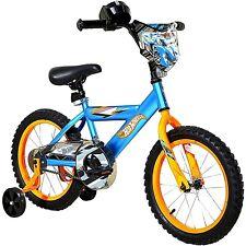 "Dynacraft 16"" Boys' Hot Wheels Kids Bike Mostly Assembled"