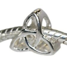 Celtic Knot Charm European Bead Compatible for Most European Snake Chain Bracele