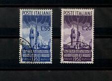 REPUBBLICA - U - CONFERENZA RADIODIFFUSIONE  (S.142) - Serie completa - 1950