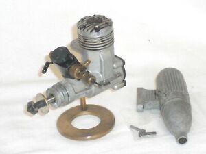 """IRVINE 20 MkII R/C"", DYKES-RING, GLOW/NITRO MODEL ENGINE"